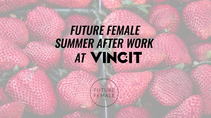 After-work drinks sponsored by Vincit 3.8.2017