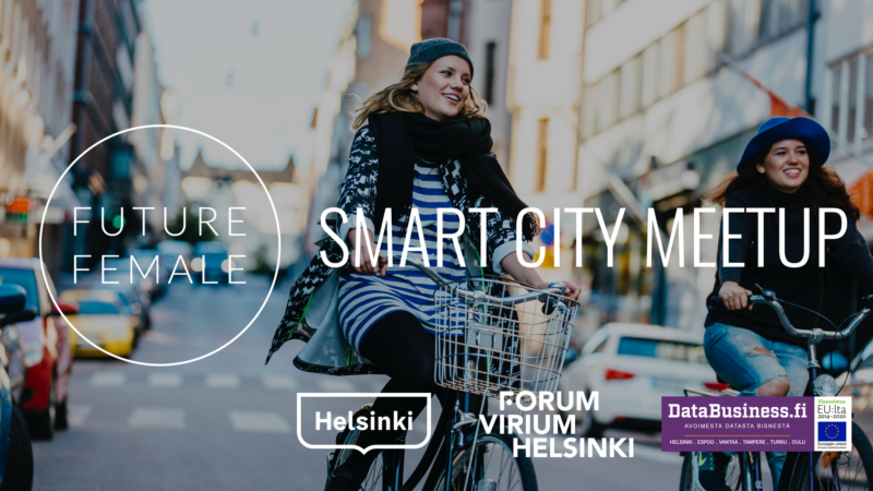 "Next MeetUp ""Future of Smart Cities"" on Thu 15.11.2017"
