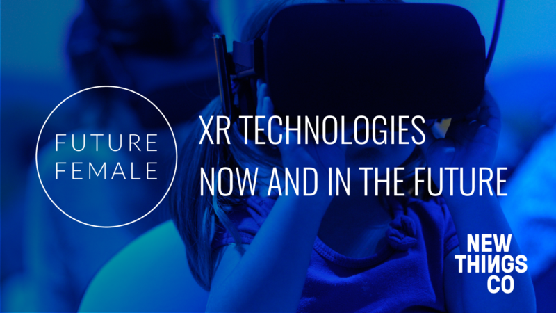 Next meetup XR technologies now and in the future