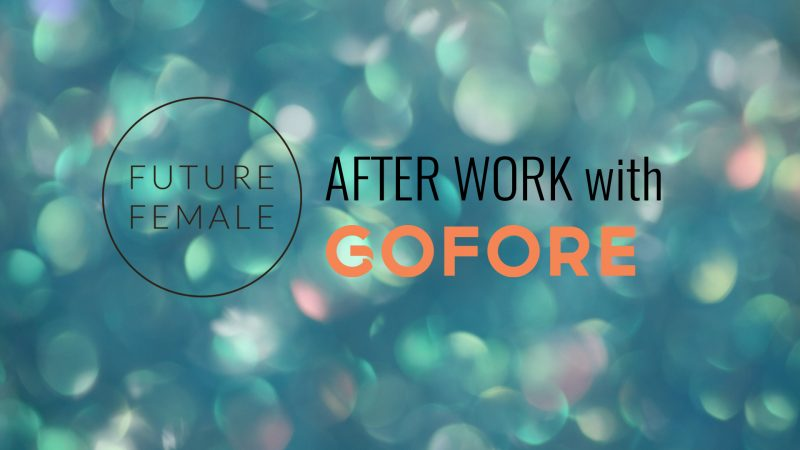 Future Female & Gofore afterwork on Thu 11.4.2019