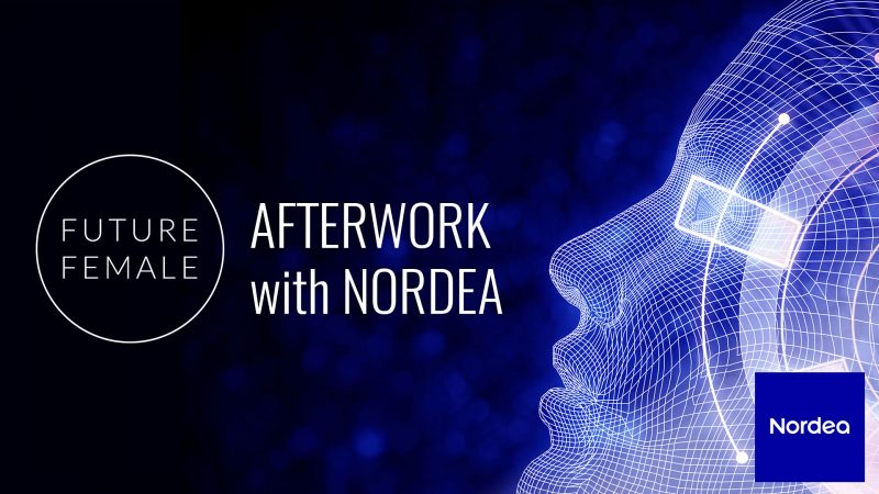Future Female afterwork with Nordea on Tue 21.5.2019