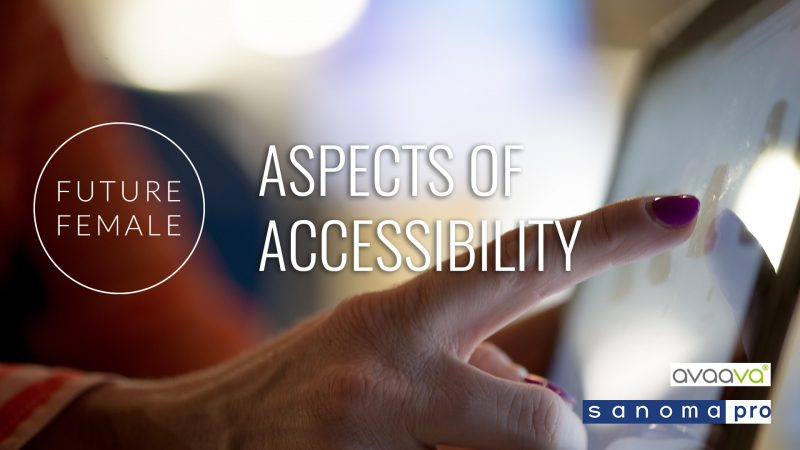 Meetup with Sanoma Pro on Thu 24.10.2019: Aspects of Accessibilty