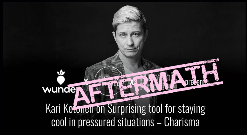 Kari Ketonen gave us tips on how to keep our cool – and this is what happened…